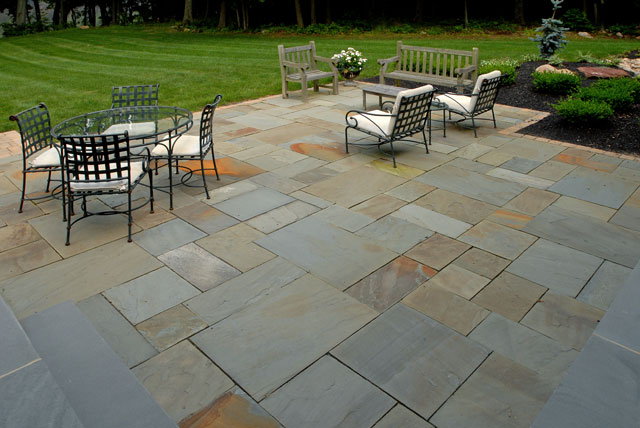 patios walks pavers brick natural stone masonry plantique