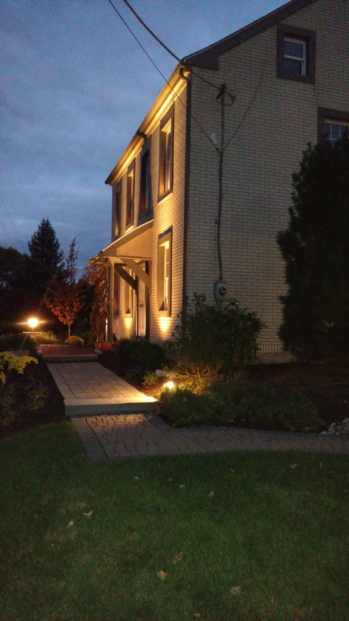 outdoor lighting systems plantique landscaping